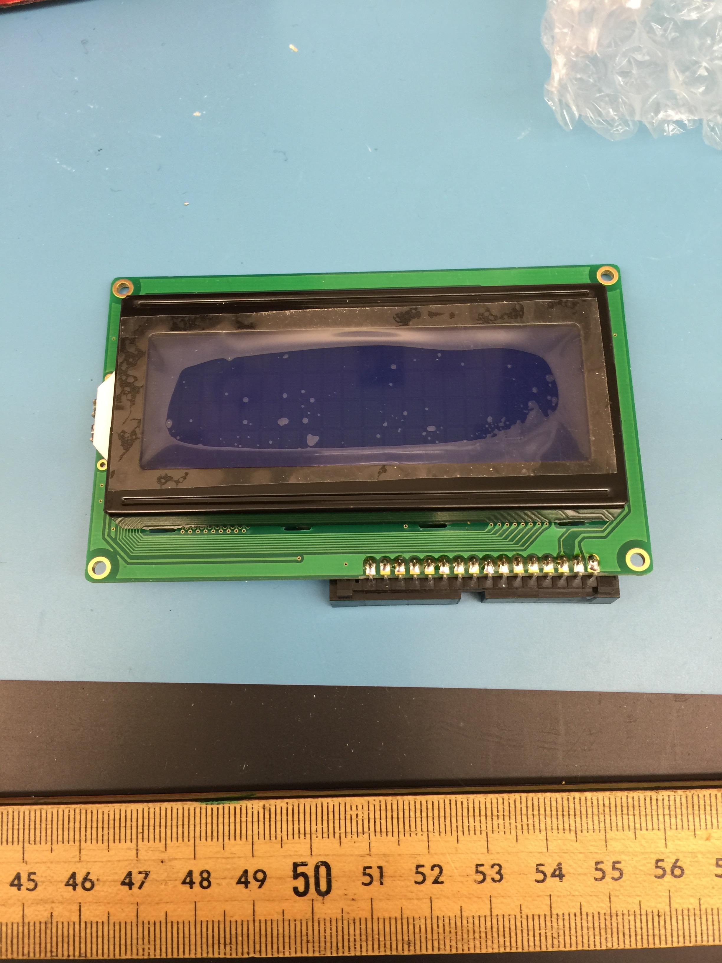 The display board