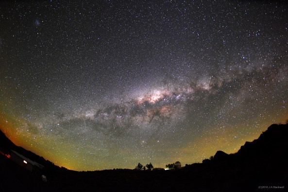 Milky Way seen from Cerro Tololo.