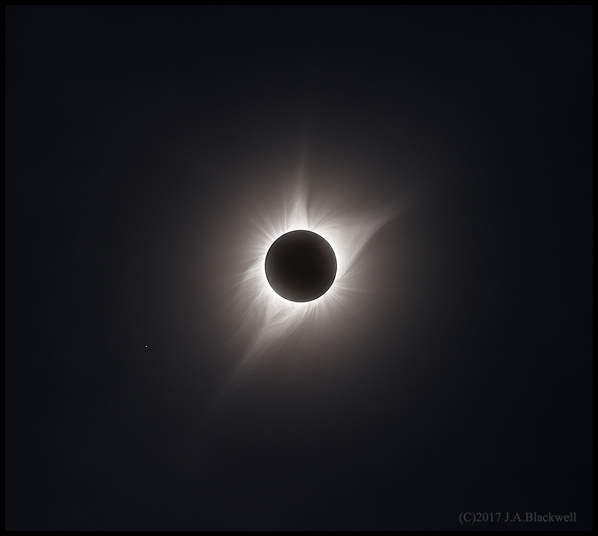 HDR of the 21 August 2017 solar eclipse.