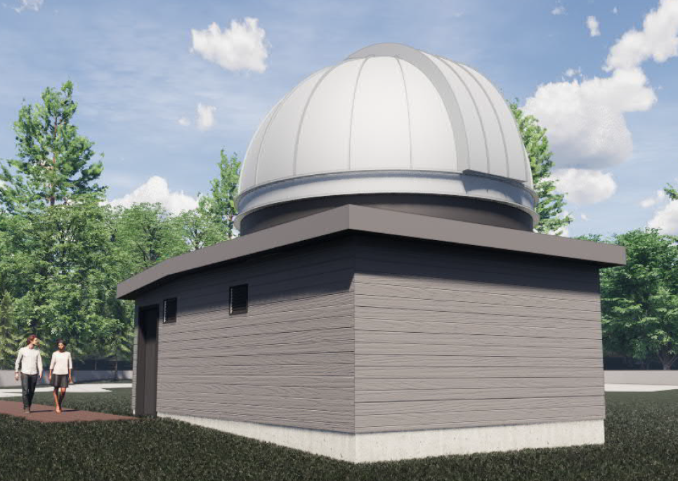 Artists Impression of the 0.7m Dome